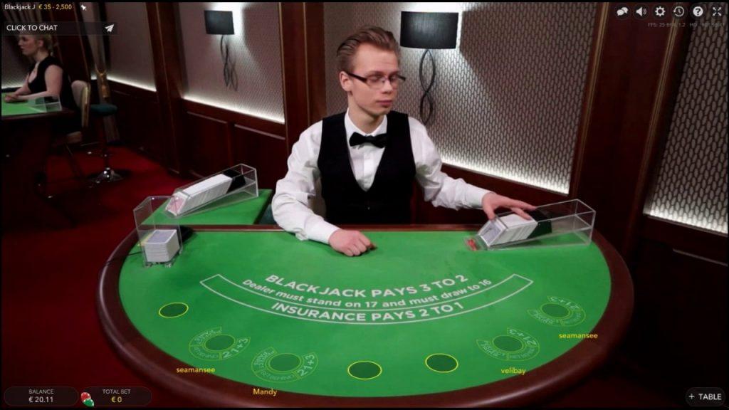 live casino NL