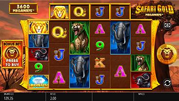 Safari Gold Megaways Slot Review