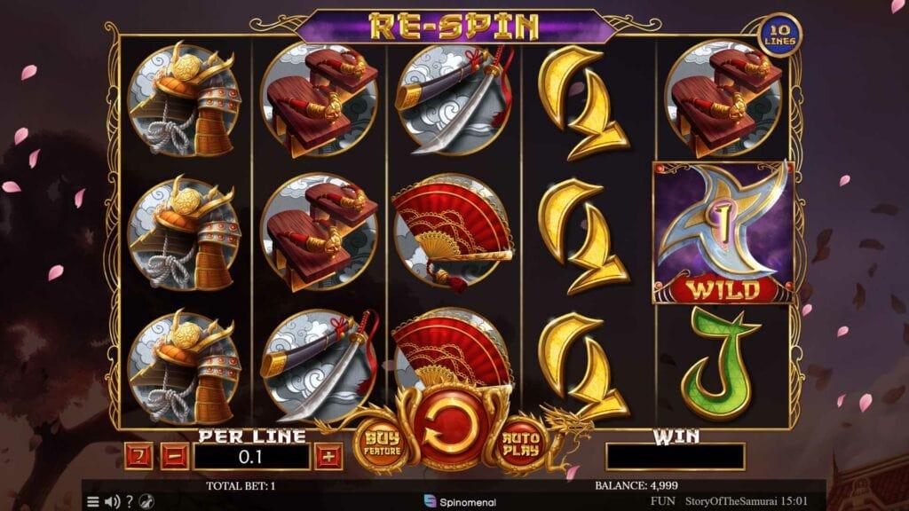 Story of the Samurai Slot