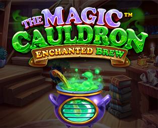 The Magic Cauldron Slot Logo